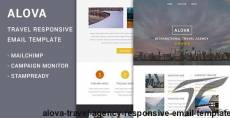 Alova - Travel Agency Responsive Email Template