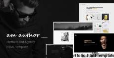 Am Author - Agency and Portfolio HTML Template