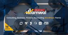 Amwal | Consulting, Business, Finance, Accounting WordPress Theme