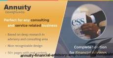 Annuity - Financial Advisory & Consulting Template