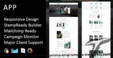 APP - Multipurpose Responsive Email Template + Stampready Builder