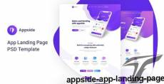 Appside - App Landing Page By ir-tech