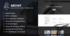 Archit - Architecture, Interior and Renovation Template