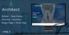Architect / Builder / Single Property / Personal HTML Template