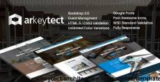 Arkeytect - Architecture Responsive Template