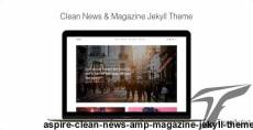 Aspire - Clean News & Magazine Jekyll Theme