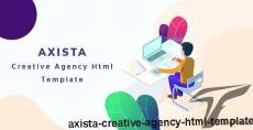 AXISTA - Creative Agency HTML Template By awesomethemez