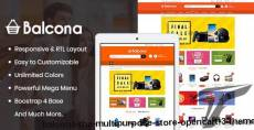 Balcona - The Multipurpose Store OpenCart 3 Theme By opencartworks