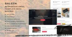 baleen - Responsive Multipurpose Email template with Stampready builder