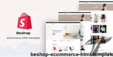 Beshop - eCommerce HTML Template By coder_dream