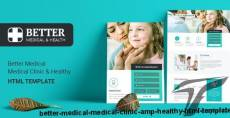 Better Medical - Medical Clinic & Healthy - HTML Template