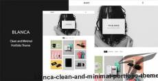 Blanca - Clean and Minimal Portfolio Theme