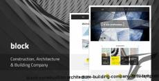 Block — Construction, Architecture, Building Company HTML Template