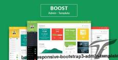 Boost - Responsive Bootstrap3 Admin Template