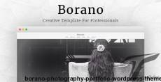 Borano - Photography / Portfolio WordPress Theme