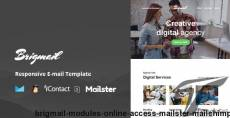 Brigmail - Modules + Online Access + Mailster + MailChimp By williamdavidoff