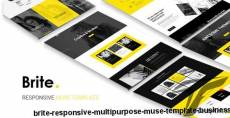 Brite | Responsive Multi-Purpose Muse Template | Business By dev-themes