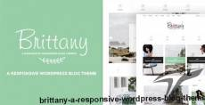Brittany - A Responsive WordPress Blog Theme