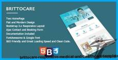 BrittoCare - Responsive Medical and HealthCare Template