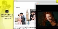 Buenoeste Photography - Creative Template for Photography by Photographers