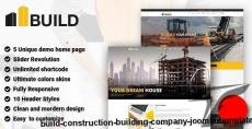 Build - Construction Building Company Joomla Template By cmsbluetheme