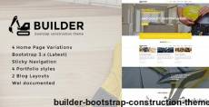Builder - Bootstrap Construction Theme