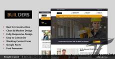 Builders - Construction & Business HTML Template