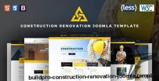 BuildPro | Construction Renovation Joomla Template