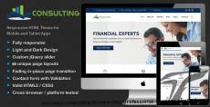 Business Consulting - Finance & Professional Services HTML Template