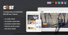CAST - Construction, Industrial & Building Responsive WordPress Theme