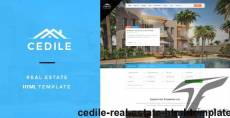 Cedile - Real Estate HTML Template
