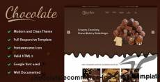 Chocolate - eCommerce Food HTML Template