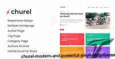 Churel - Modern and Powerful Jekyll Blog Theme By themeix