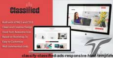 Classify - Classified Ads Responsive HTML Template