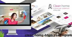 Clean Home HTML/CSS Template