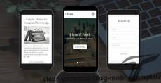 Clean - Personal Blog Mobile Template