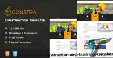 Constra - HTML5 Construction & Business Template