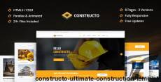 Constructo - Ultimate Construction Template