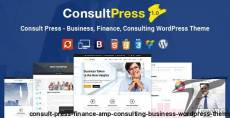 Consult Press - Finance & Consulting Business WordPress Theme