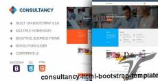 Consultancy - HTML Bootstrap Template