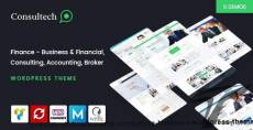 Consultech - Finance & Consulting Business WordPress Theme