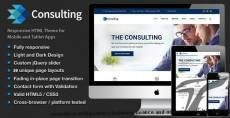 Consulting - Multipurpose Business, Finance and advisory Website Template
