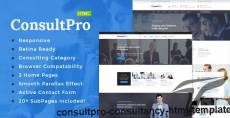 ConsultPro : Consultancy HTML Template