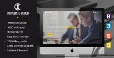 Corporate World | Business Consulting and Professional Services Resposive Bootstrap template