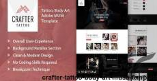 Crafter Tattoo – Body Art Muse Template By goaldesigns