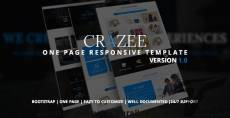 Crazee - Onepage Parallax Business Template