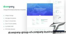 Dcompany - Group Of Company Business Template By sabbirmc