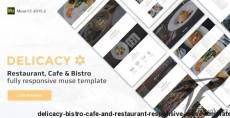 Delicacy - Bistro, Cafe and Restaurant Responsive Muse Template