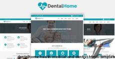DentalHome - Health, Medical and Dentist HTML5 Template