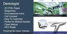 Dentologist - Responsive Template for Medical and Dental Industry